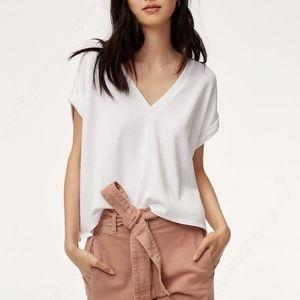 WILFRED FREE Brosh T-Shirt White Size XS